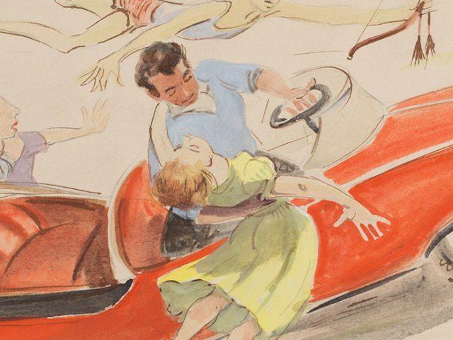 MARITAL MILESTONES  #22  1956