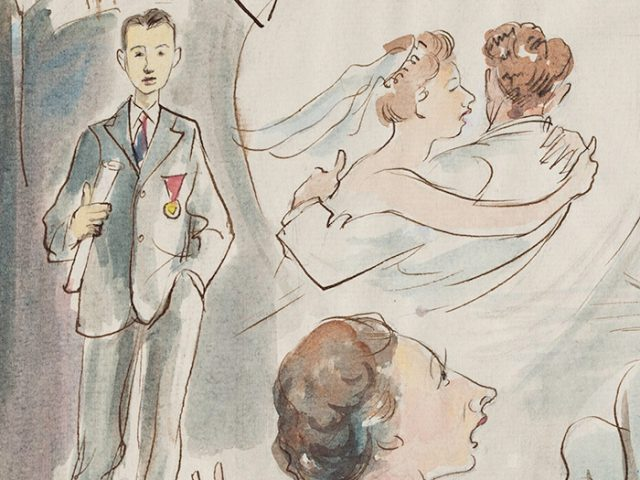MARITAL MILESTONES  #23  1957